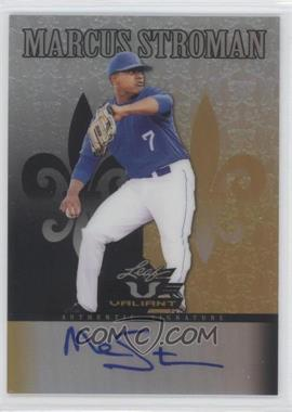2012 Leaf Valiant Black #VA-MS1 - Marcus Stroman /5