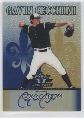 2012 Leaf Valiant Blue #VA-GC1 - Gavin Cecchini /25