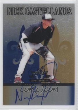2012 Leaf Valiant Blue #VA-NC1 - Nick Castellanos /25
