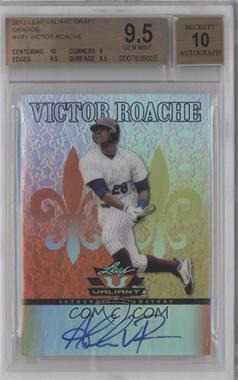 2012 Leaf Valiant Orange #VA-VR1 - Victor Roache /99 [BGS 9.5]