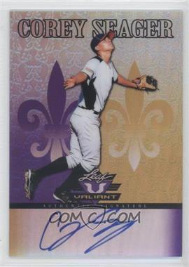 2012 Leaf Valiant Purple #VA-CS1 - Corey Seager /25