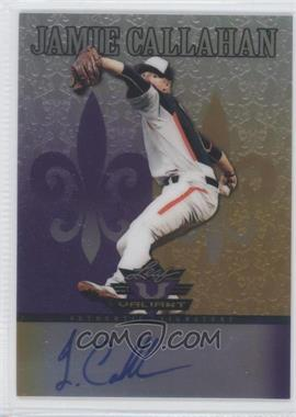 2012 Leaf Valiant Purple #VA-JC1 - Jamie Callahan /25