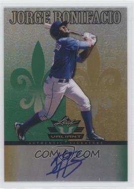 2012 Leaf Valiant #VA-JB2 - Jorge Bonifacio
