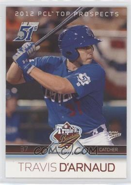 2012 Multi-Ad Sports Pacific Coast League Top Prospects - [Base] #10 - Travis d'Arnaud