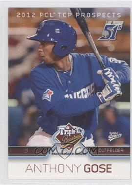 2012 Multi-Ad Sports Pacific Coast League Top Prospects - [Base] #11 - Anthony Gose