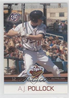 2012 Multi-Ad Sports Pacific Coast League Top Prospects #22 - A.J. Pollock