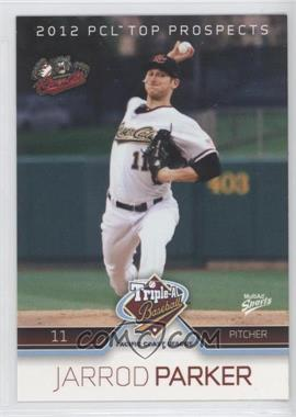 2012 Multi-Ad Sports Pacific Coast League Top Prospects #28 - Jarrod Parker