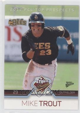 2012 Multi-Ad Sports Pacific Coast League Top Prospects #31 - Mike Trout
