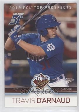 2012 Multi-Ad Sports Pacific Coast League Top Prospects #37 - Travis d'Arnaud
