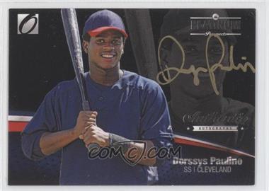 2012 Onyx Platinum Prospects - Autographs - Gold Ink #PPA12 - Dorssys Paulino /25