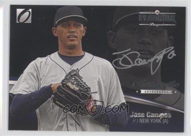 2012 Onyx Platinum Prospects - Autographs - Silver Ink #PPA4 - Jose Campos /140