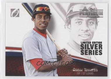 2012 Onyx Platinum Prospects - [Base] - Limited Edition Silver Series #PP44 - Oscar Taveras /100