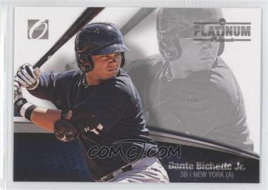 2012 Onyx Platinum Prospects [???] #PP06 - Dante Bichette Jr. /500