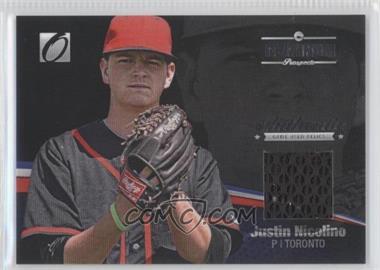 2012 Onyx Platinum Prospects [???] #PPGU14 - Justin Nicolino /100