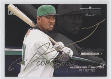 2012 Onyx Platinum Prospects Autographs Gold Ink #PPA13 - Guillermo Pimentel /25