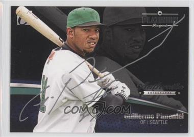 2012 Onyx Platinum Prospects Autographs Silver Ink #PPA13 - Guillermo Pimentel /145