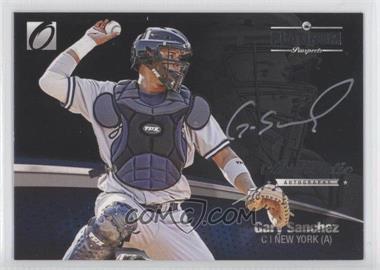 2012 Onyx Platinum Prospects Autographs Silver Ink #PPA14 - Gary Sanchez /150
