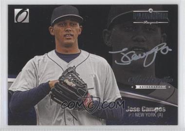 2012 Onyx Platinum Prospects Autographs Silver Ink #PPA4 - Jose Campos /140
