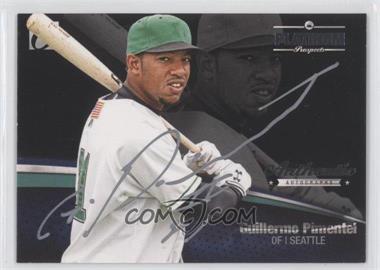 2012 Onyx Platinum Prospects Autographs Silver #PPA13 - Guillermo Pimentel /145
