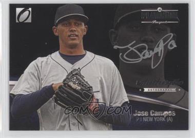 2012 Onyx Platinum Prospects Autographs Silver #PPA4 - Jose Campos /140