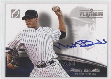 2012 Onyx Platinum Prospects Blue Ink Autographs [Autographed] #PP04 - Manny Banuelos /10