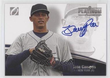 2012 Onyx Platinum Prospects Blue Ink Autographs [Autographed] #PP12 - Jose Campos /10