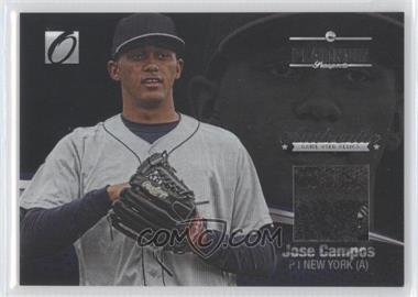2012 Onyx Platinum Prospects Game-Used Materials #PPGU04 - Jose Campos /100
