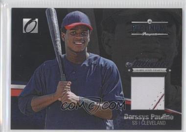 2012 Onyx Platinum Prospects Game-Used Materials #PPGU15 - Dorssys Paulino /150