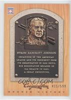 Ban Johnson /599