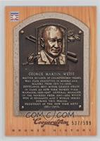 George Weiss /599