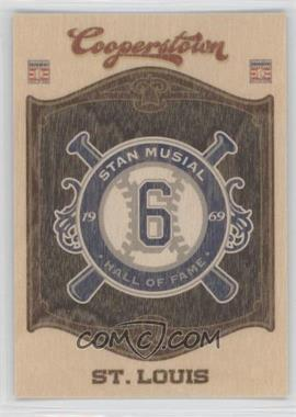 2012 Panini Cooperstown - Hall of Fame Classes - Blaster Exclusive Team #15 - Stan Musial