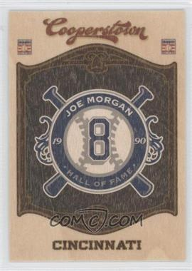 2012 Panini Cooperstown - Hall of Fame Classes - Blaster Exclusive Team #20 - Joe Morgan