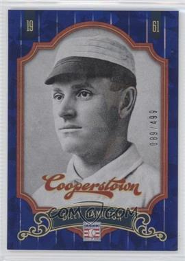 2012 Panini Cooperstown Blue Crystal Collection #70 - Bill Hall /499
