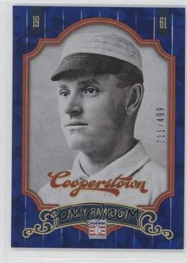 2012 Panini Cooperstown Blue Crystal Collection #70 - Billy Hamilton /499