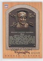 Bill McGowan /599