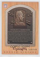 Charlie Gehringer /599