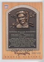 New York Giants, Rube Marquard /599