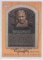 Mel Ott, New York Giants /599