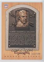 Al Spalding /599