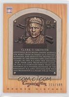 Clark Griffith /599
