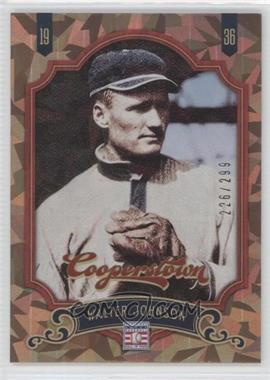 2012 Panini Cooperstown Crystal Collection #160 - Walter Johnson /299