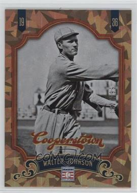 2012 Panini Cooperstown Crystal Collection #2 - Walter Johnson /299
