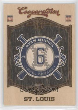 2012 Panini Cooperstown Hall of Fame Classes Blaster Exclusive Team #15 - Stan Musial