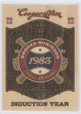 2012 Panini Cooperstown Hall of Fame Classes Induction Year #14 - Brooks Robinson