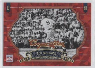 2012 Panini Cooperstown Red Crystal Collection #58 - Ted Williams /399