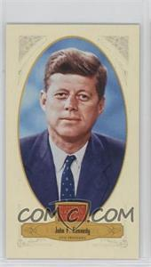 2012 Panini Golden Age - [Base] - Broad Leaf Mini Brown Back #77 - TBD, John F. Kennedy