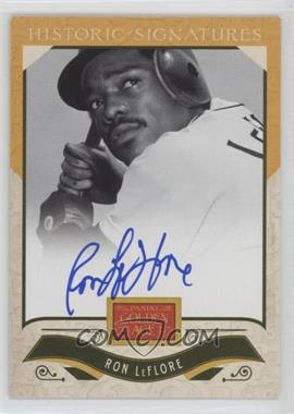 2012 Panini Golden Age - Historic Signatures #RL - Ron LeFlore