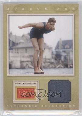 2012 Panini Golden Age - Museum Age Authentic Collection Material #7 - Johnny Weissmuller