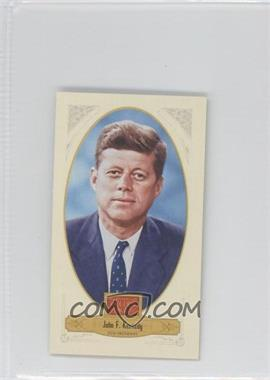 2012 Panini Golden Age Broad Leaf Mini Brown Back #77 - TBD, John F. Kennedy