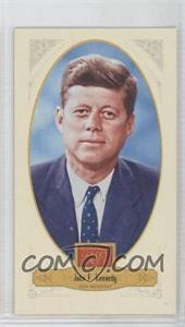 2012 Panini Golden Age Broad Leaf Mini Brown Back #77 - TBD, John F. Kennedy